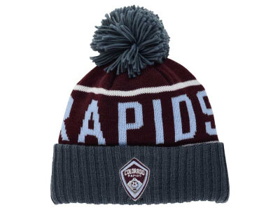 Colorado Rapids Mitchell and Ness MLS Pom Knit