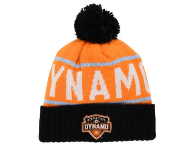 Houston Dynamo Mitchell and Ness MLS Pom Knit