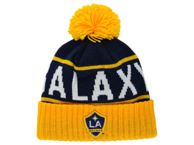 LA Galaxy Mitchell and Ness MLS Pom Knit