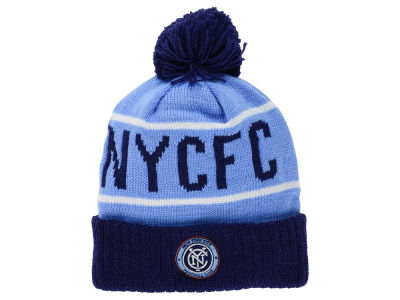 New York City FC Mitchell and Ness MLS Pom Knit