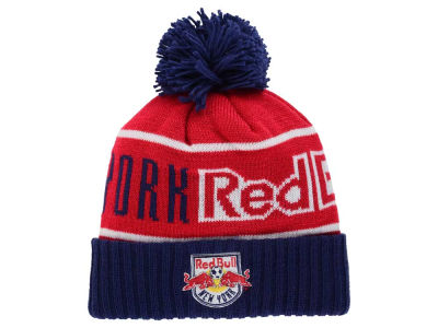 New York Red Bulls Mitchell and Ness MLS Pom Knit