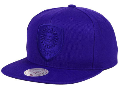 Orlando City SC Mitchell and Ness MLS Tonal Snapback Cap