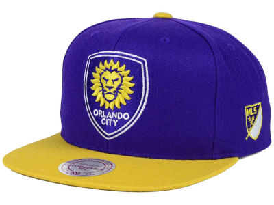 Orlando City SC Mitchell and Ness MLS 2 Tone Snapback Cap