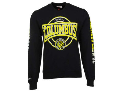 Columbus Crew SC Mitchell and Ness MLS Men's Down To The Wire Crew Sweatshirt