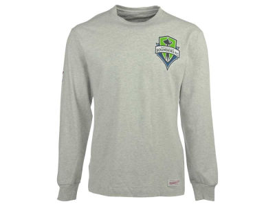 Seattle Sounders FC Mitchell and Ness MLS Men's Team Issued Long Sleeve T-Shirt