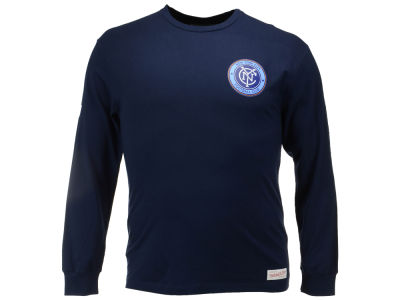 New York City FC Mitchell and Ness MLS Men's Team Issued Long Sleeve T-Shirt