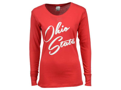 Ohio State Buckeyes NCAA Women's Script Ohio State Long Sleeve T-Shirt