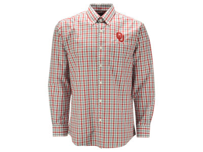 Oklahoma Sooners NCAA Men's Epic Grant Plaid Button Up Shirt