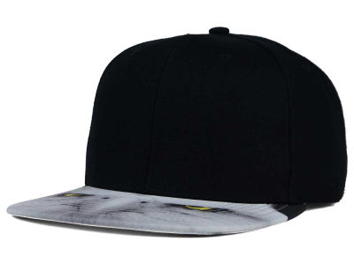 Eagle Eyes Printed Visor Snapback Cap