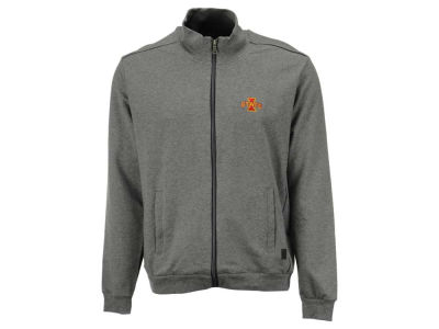Iowa State Cyclones NCAA Men's Full Zip Jacket with Shoulder Piecing
