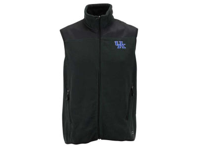 Kentucky Wildcats NCAA Men's Full Zip Poly Fleece Vest