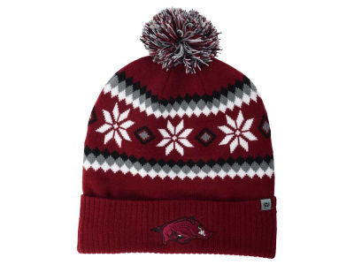 Arkansas Razorbacks Top of the World NCAA Fogbow Knit