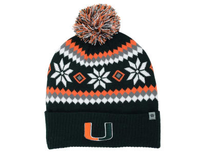 Miami Hurricanes Top of the World NCAA Fogbow Knit