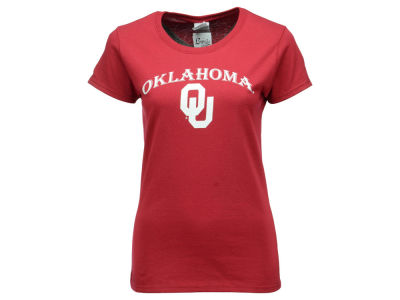 Oklahoma Sooners NCAA Women's Basic Arch T-Shirt