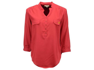 Iowa State Cyclones NCAA Women's Plus Size Button Down Tunic Shirt