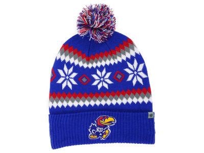 Kansas Jayhawks Top of the World NCAA Fogbow Knit
