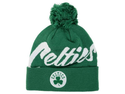 Boston Celtics Mitchell and Ness NBA Double Up Cuff Knit