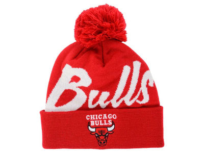 Chicago Bulls Mitchell and Ness NBA Double Up Cuff Knit