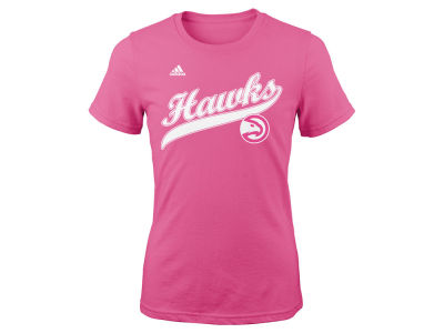 Atlanta Hawks NBA Youth Girls Candy Script T-Shirt