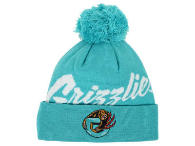 Vancouver Grizzlies Mitchell and Ness NBA Double Up Cuff Knit
