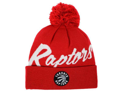 Toronto Raptors Mitchell and Ness NBA Double Up Cuff Knit