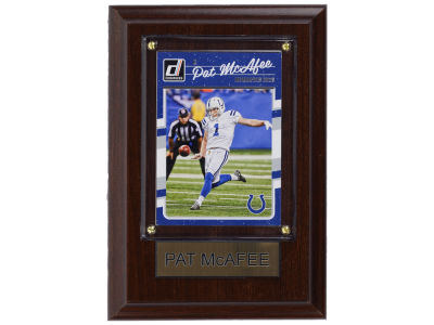 Indianapolis Colts Pat McAfee 4x6 Carded Plaque