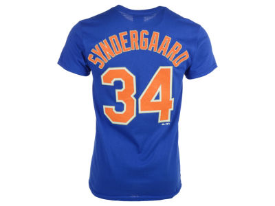New York Mets Noah Syndergaard Majestic MLB Men's Official Player T-Shirt