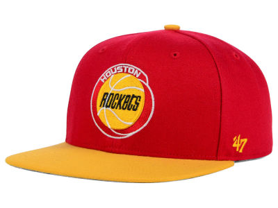 Houston Rockets '47 NBA HWC Sure Shot 2 Tone '47 Snapback Cap