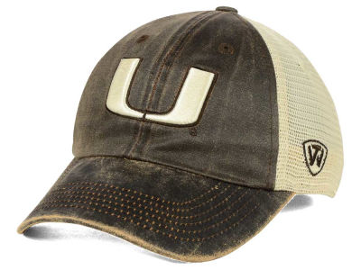 Miami Hurricanes Top of the World NCAA Scat Mesh Cap