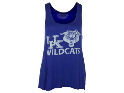 Kentucky Wildcats NCAA Women's Retro Mascot Ruched Back Tank