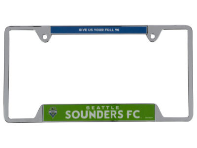 Seattle Sounders FC Racing Metal License Frame