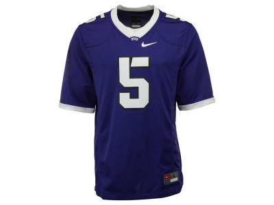 Texas Christian Horned Frogs #5 Nike NCAA Replica Football Game Jersey