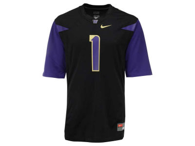 Washington Huskies #1 Nike NCAA Replica Football Game Jersey