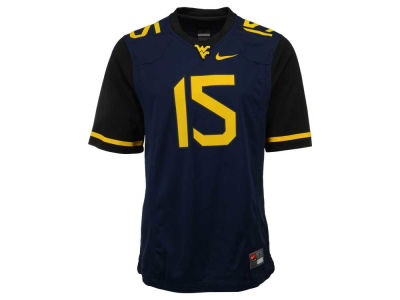West Virginia Mountaineers #15 Nike NCAA Replica Football Game Jersey