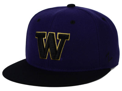 Washington Huskies Zephyr NCAA Team Color Fitted Hat