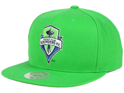 Seattle Sounders FC Mitchell and Ness MLS Basic Snapback Cap