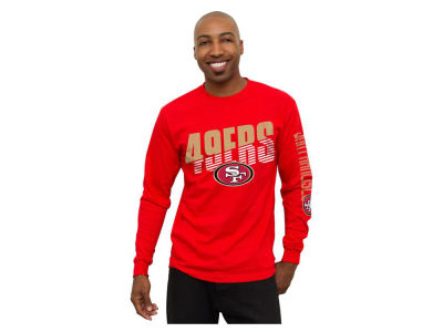San Francisco 49ers NFL Men's Top Shelf Long Sleeve T-Shirt