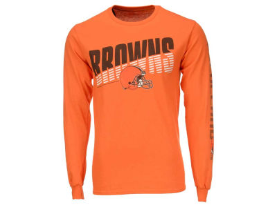 Cleveland Browns NFL Men's Top Shelf Long Sleeve T-Shirt