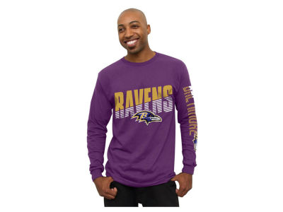 Baltimore Ravens NFL Men's Top Shelf Long Sleeve T-Shirt