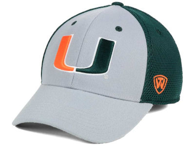 Miami Hurricanes Top of the World NCAA Albatross 2 Cap