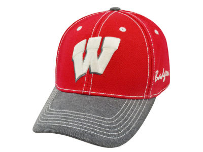 Wisconsin Badgers Top of the World NCAA High Post Cap