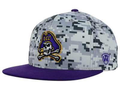 East Carolina Pirates Top of the World NCAA Keen Snapback Cap
