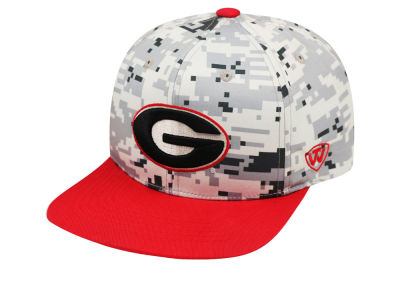 Georgia Bulldogs Top of the World NCAA Keen Snapback Cap