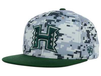 Hawaii Warriors Top of the World NCAA Keen Snapback Cap