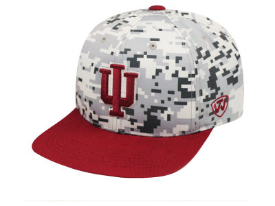 Indiana Hoosiers Top of the World NCAA Keen Snapback Cap
