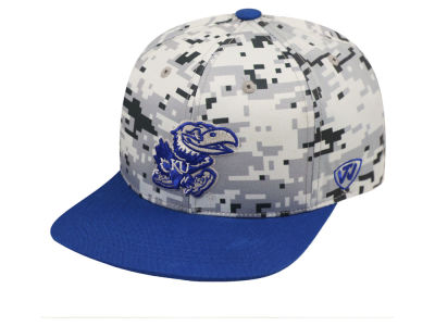 Kansas Jayhawks Top of the World NCAA Keen Snapback Cap