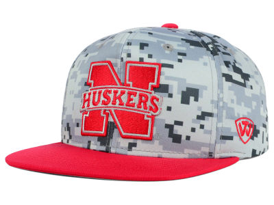 Nebraska Cornhuskers Top of the World NCAA Keen Snapback Cap