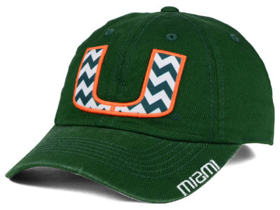 Miami Hurricanes Top of the World NCAA Chevron Crew Cap