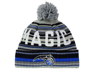 Orlando Magic Mitchell and Ness NBA G-Super Stripe Pom Knit