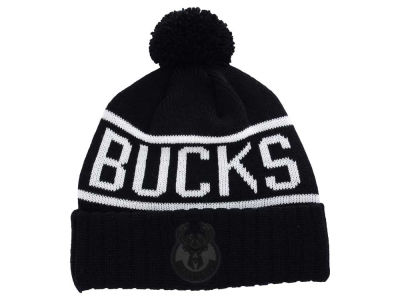 Milwaukee Bucks Mitchell and Ness NBA Reflective Patch Knit
